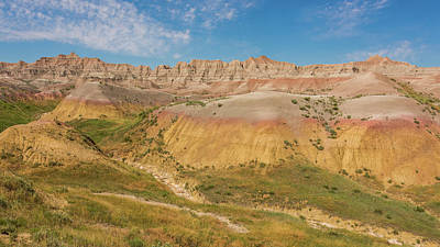 Photograph - The Colors Of Badlands National Park by Brenda Jacobs