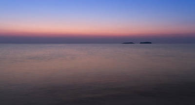 Photograph - Dawn At The Mediterranean Sea by Andreas Levi