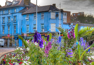 Folkestone Harbour Wall Art - Photograph - The Colors Of Europe by Tim Stanley