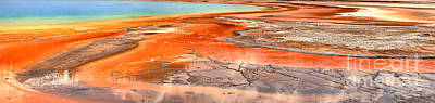 Photograph - The Colors Of Grand Prismatic by Adam Jewell