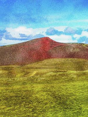 Digital Art - The Colors Of Laki by Frans Blok
