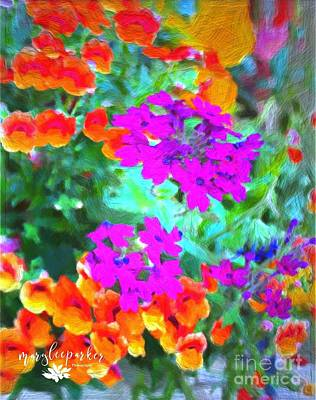 Painting - The Colors Of Life by MaryLee Parker