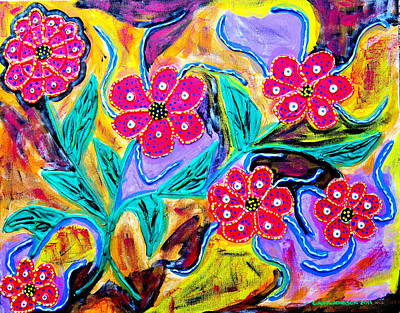 Painting - The Colors Of My Day by Gina Nicolae Johnson