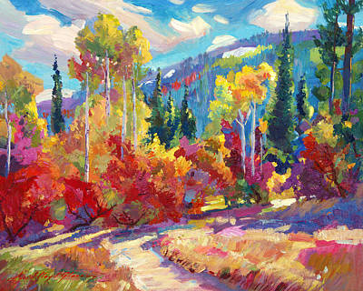 Popular Painting - The Colors Of New Hampshire by David Lloyd Glover