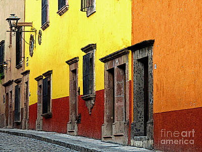 Portal Photograph - The Colors Of San Miguel by Mexicolors Art Photography