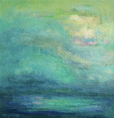 Painting - The Colors Of Sea And Sky by Mary Wolf