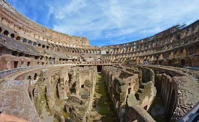 Photograph - The Colosseum by Chris Alberding