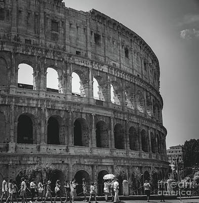 Photograph - The Colosseum, Rome Italy by Perry Rodriguez