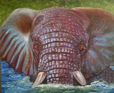 Poaching Painting - The Colour Of Life by Jake Knee