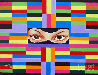 Painting - The Colour Of Life by Ragunath Venkatraman