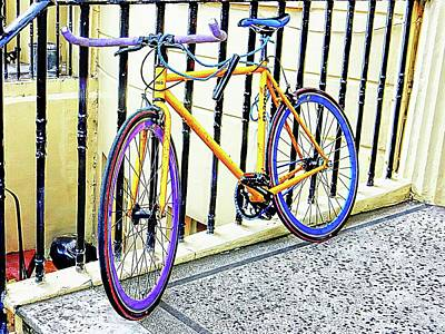 Photograph - The Coloured Bicycle by Dorothy Berry-Lound