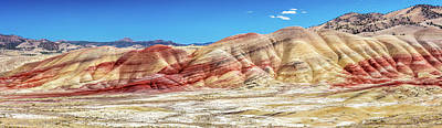 Photograph - The Colourful Painted Hills by Pierre Leclerc Photography