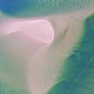 Photograph - The Colours And Patterns Of The Noosa River by Keiran Lusk