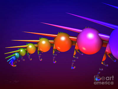 Digital Art - The Colours by Melissa Messick