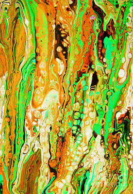 Merging Painting - The Colours Of Nature by Trudee Hunter