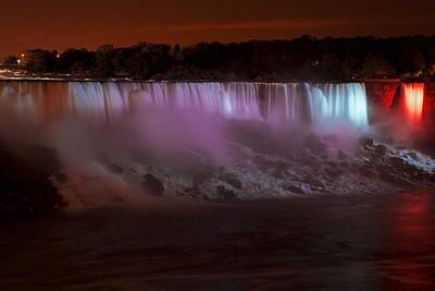 Photograph - The Colours Of Niagara Falls - 1 by Hany J