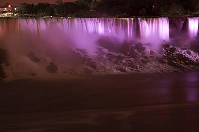 Photograph - The Colours Of Niagara Falls - 2  by Hany J