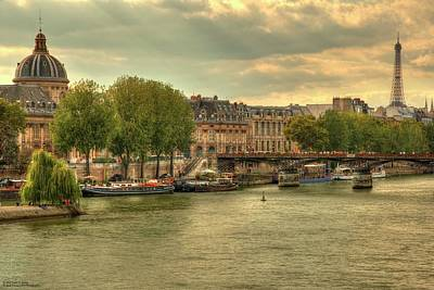 Photograph - The Colours Of Paris In Hdr by Hany J