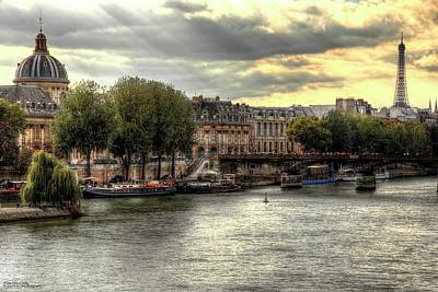 Photograph - The Colours Of Paris In Hdr - Version 2  by Hany J