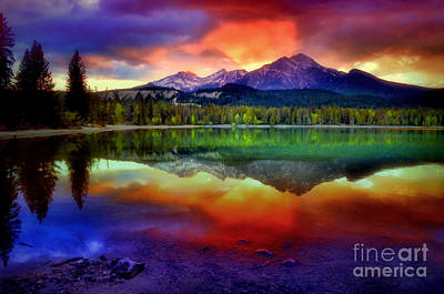 Photograph - The Colours The Mountain Sees When She Closes Her Eyes by Tara Turner