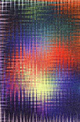 Painting - The Colours Theory by Andrea Mazzocchetti