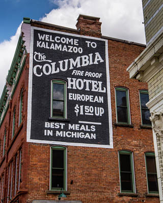 The Columbia Hotel Building Art Print