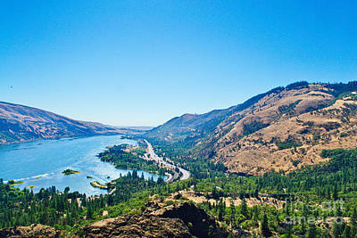 Photograph - The Columbia River Gorge by Ansel Price