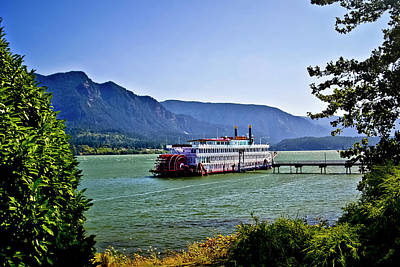 Photograph - The Columbia River National Scenic Area by Albert Seger