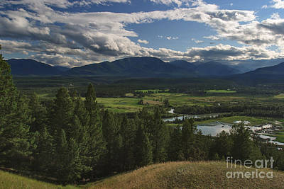 Photograph - The Columbia Valley by Charles Kozierok