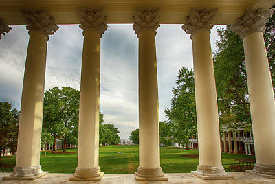Wall Art - Photograph - The Columns by Cliff Middlebrook