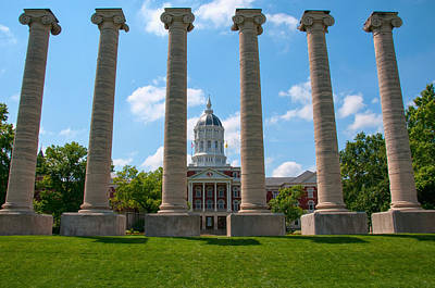 Photograph - The Columns by Steve Stuller