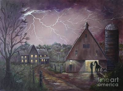 The Coming Storm Print by Marlene Kinser Bell