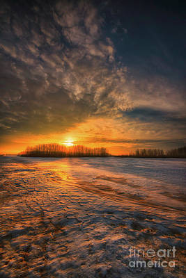 D800 Photograph - The Coming Warmth by Ian McGregor