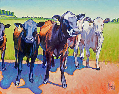 Painting - The Committee by Stacey Neumiller