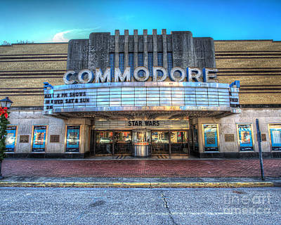 35 Mm Film Photograph - The Commodore Theatre by Greg Hager