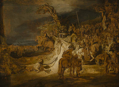 The Concord Of The State Art Print by Rembrandt