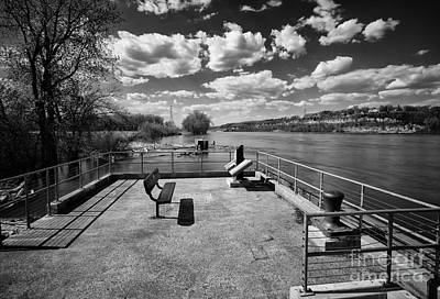 Photograph - The Concrete Pier by Jimmy Ostgard