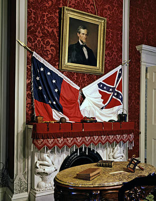 The Confederate White House Art Print