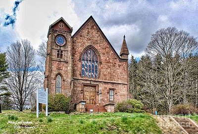 Photograph - The Congregational Church  Of Northford, Ct by MaryLee Parker