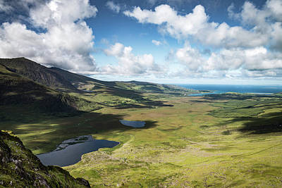 Photograph - The Conor Pass, Co Kerry. by Martina Fagan