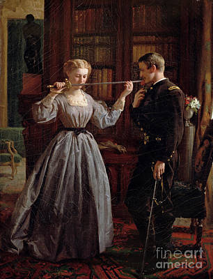 Charming Painting - The Consecration by George Cochran