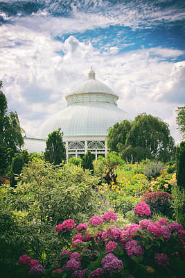 Garden Flowers Photograph - The Conservatory And Gardens by Jessica Jenney