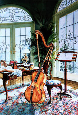 Music Paintings - The Conservatory by Hanne Lore Koehler