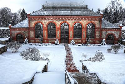 Photograph - The Conservatory In Winter by Carol Montoya