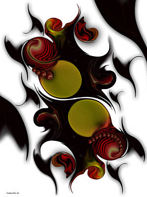 Art Print featuring the digital art The Continuation Of Dreams by Carmen Fine Art
