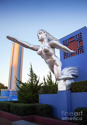 Photograph - The Contralto Statue, The State Fair Of Texas Esplanade by Greg Kopriva