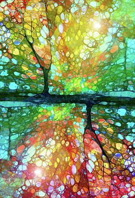 Nature Abstract Digital Art - The Conundrum by Tara Turner