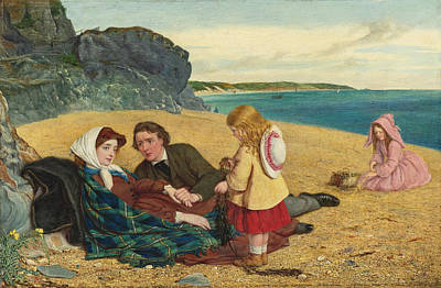 Convalescent Painting - The Convalescent by William Gale
