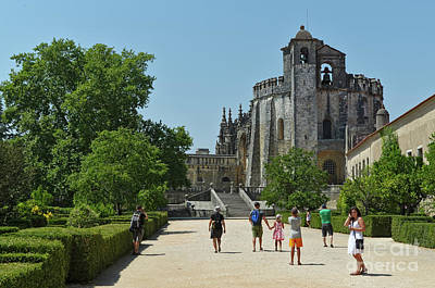 Photograph - The Convent Of Christ In Tomar. Portugal by Angelo DeVal