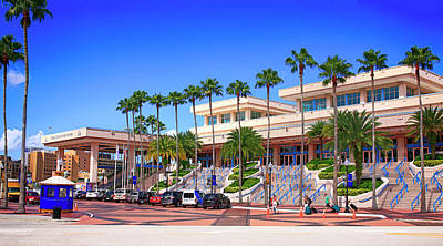Photograph - The Convention Center Building In Tampa Fl, Usa by Chris Smith